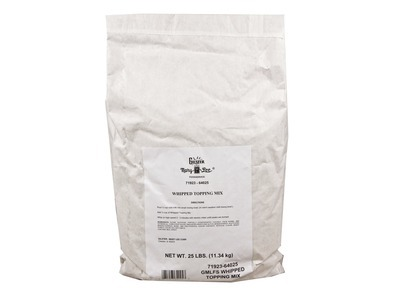 Whipped Topping Mix 25lb