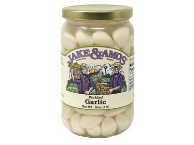 Pickled Garlic 12/16oz