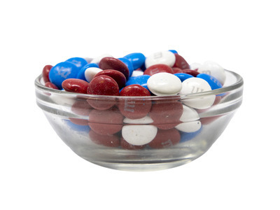 M&M's® Red, White, and Blue 25lb