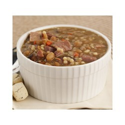 Ham Flavored Bean Soup with Rivels 15lb