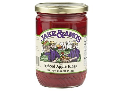 J&A Red Spiced Apple Rings 12/14.5oz