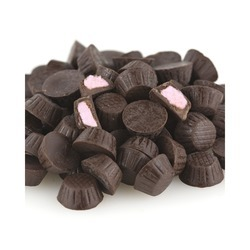 Mini Dark Chocolate Raspberry Cups 10lb