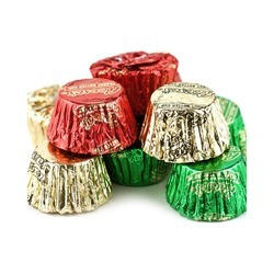 Reese's® Mini Peanut Butter Cups, Red/Green/Gold 25lb