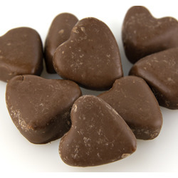 Chocolate Caramel Hearts 30lb