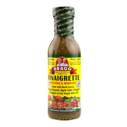 Organic Vinaigrette Dressing (Glass) 6/12oz