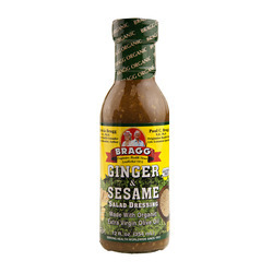 Organic Ginger & Sesame Dressing (Glass) 6/12oz